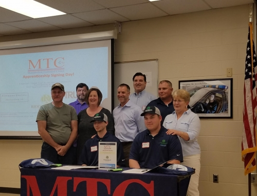 Apprenticeship Signing Event at Massanutten Technical Center
