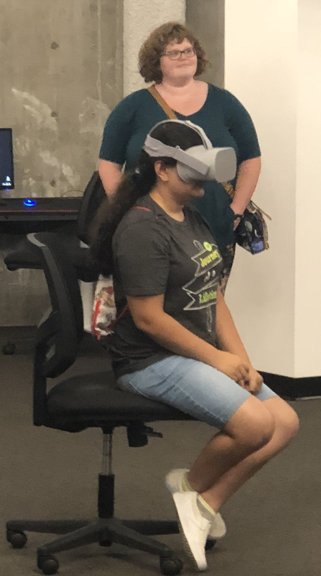 VR Demonstration at Shenandoah University