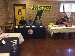 Triplett Tech Signing- IBEW Local 26